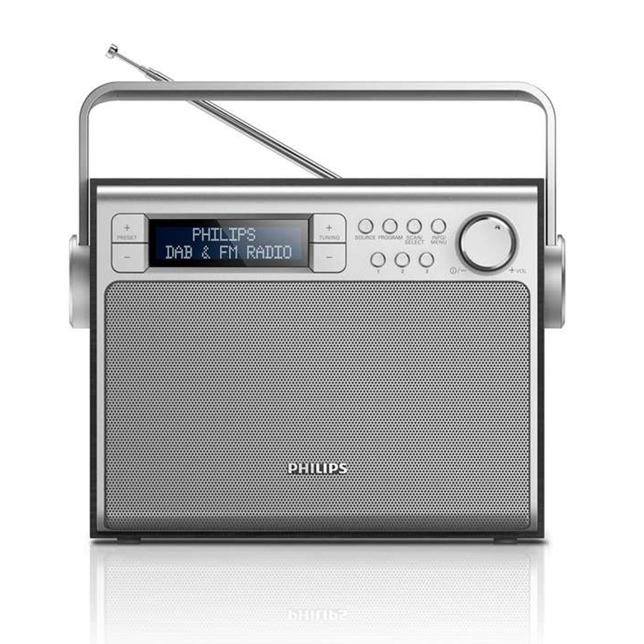 philips portable radio black rh desktopideas com Philips Clock Radio AJ 35006 Philips Radio B3x88u